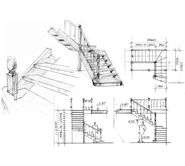Лестница проектирование
